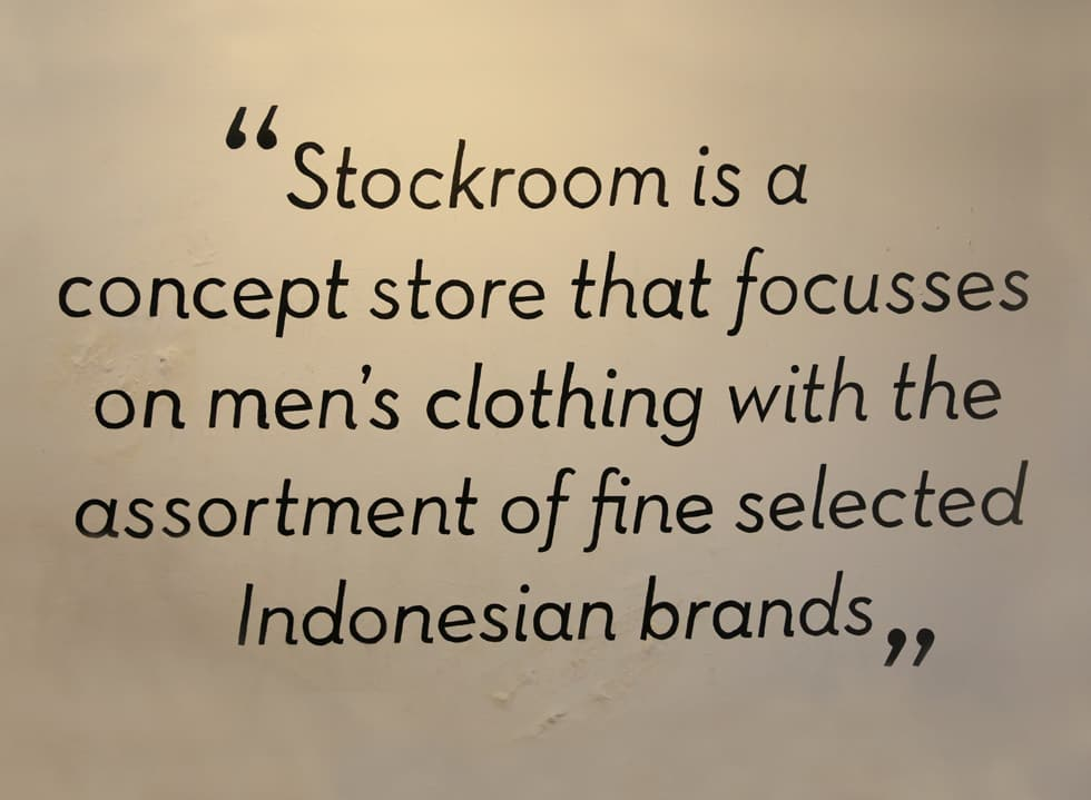 Insouciance of Shopping at Stockroom Trade