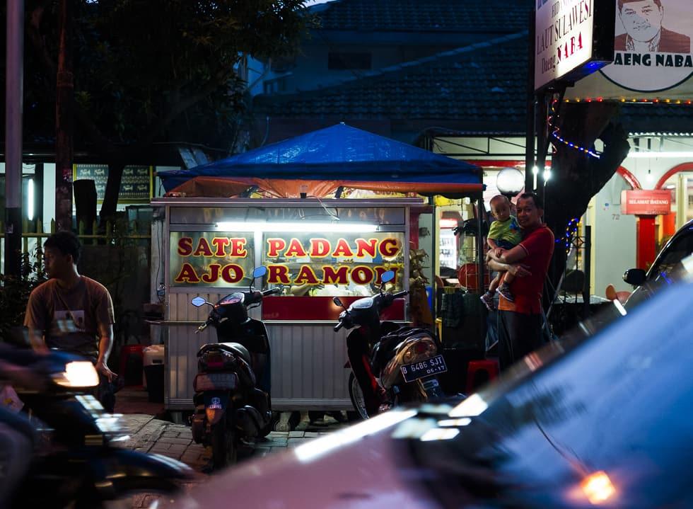 Ajo Ramon's Brand of Sate Padang