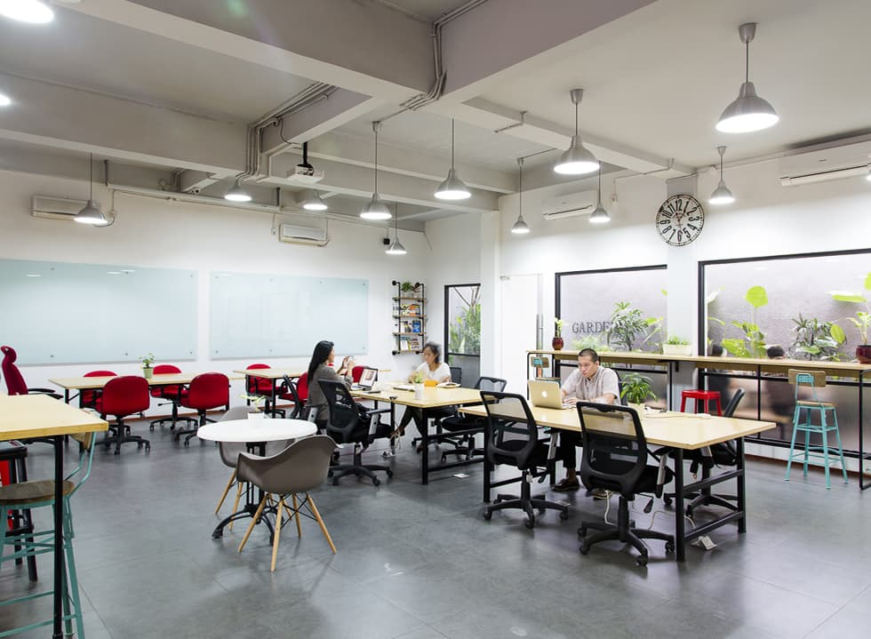The Curious Case of Coworking Space