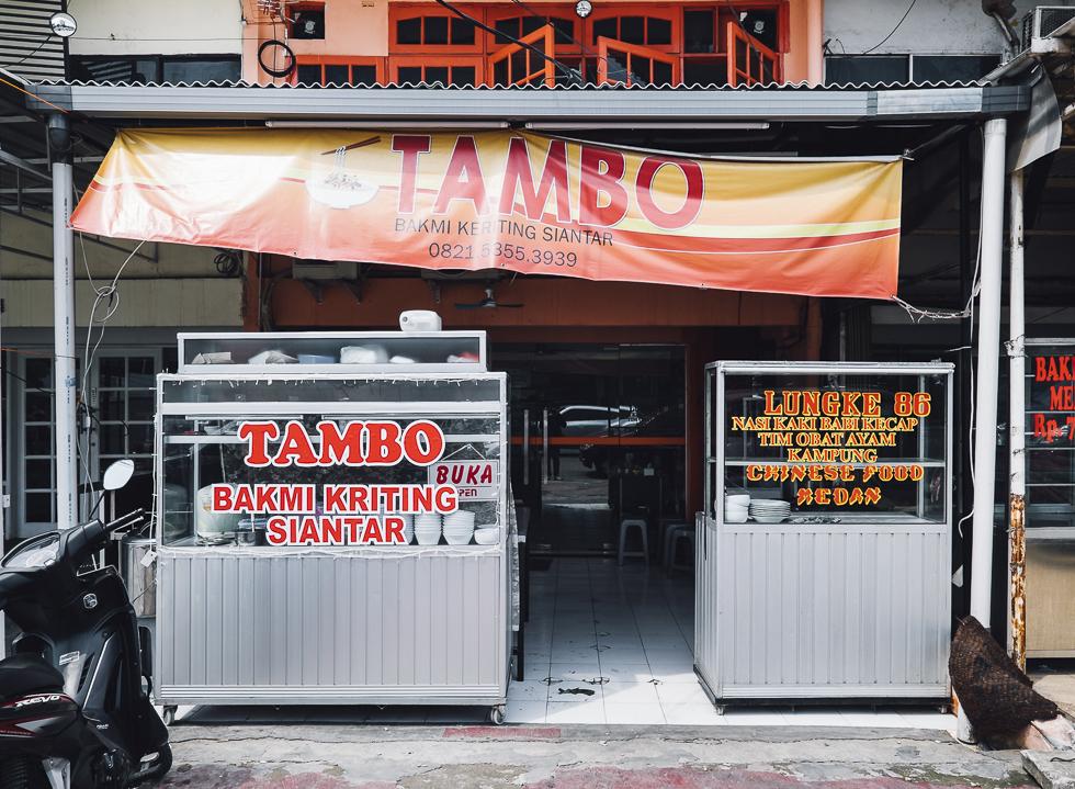 Piggin' Out at Bakmi Tambo
