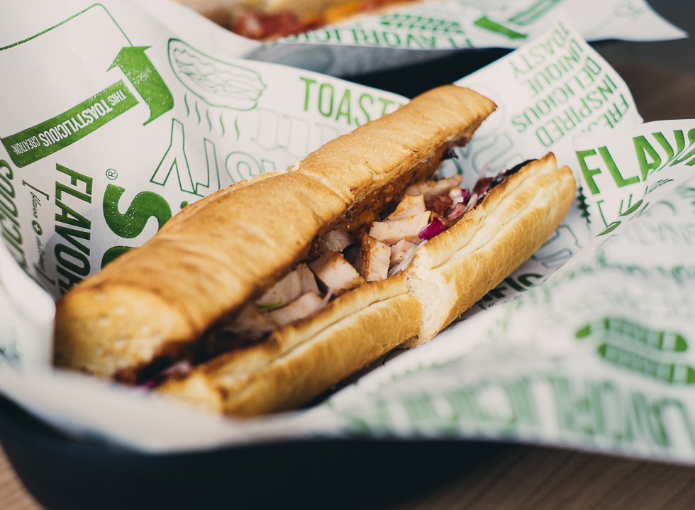A Quick Sub from Quiznos