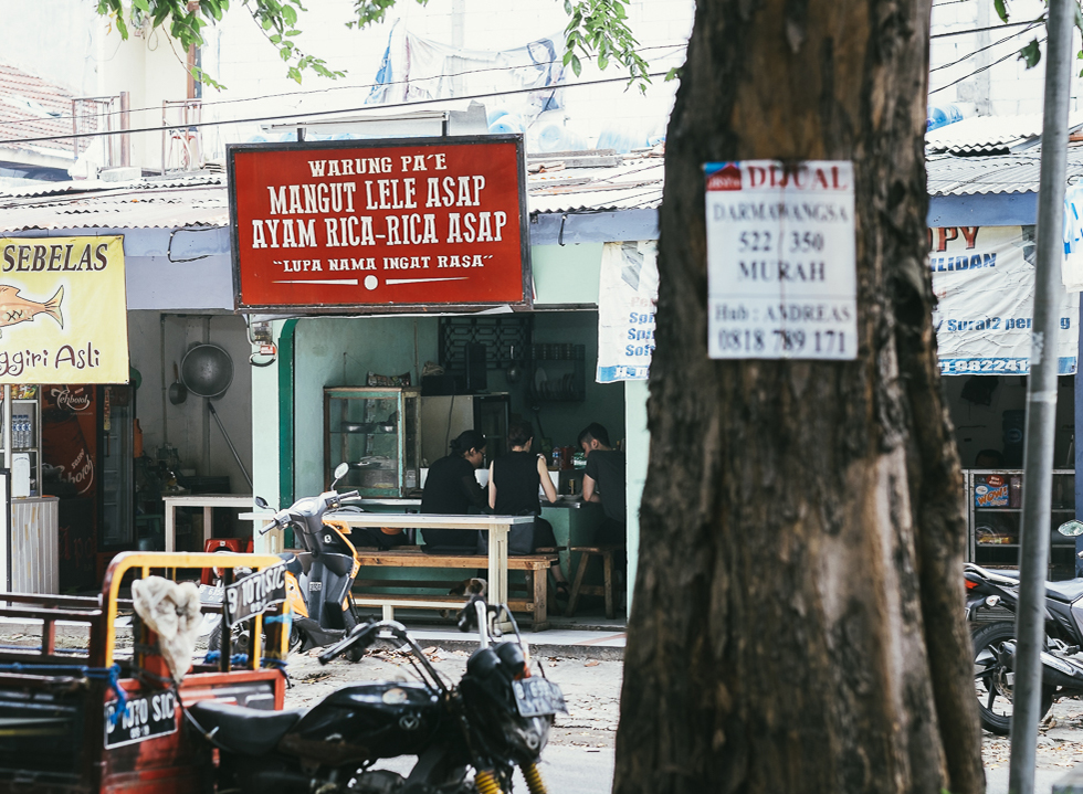 The Taste Lingers on in Warung Pa'e