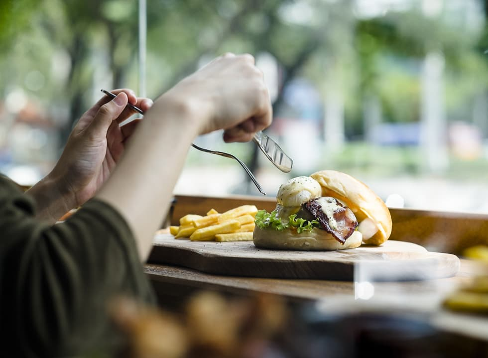 Burger Pleasure at Buns & Meat