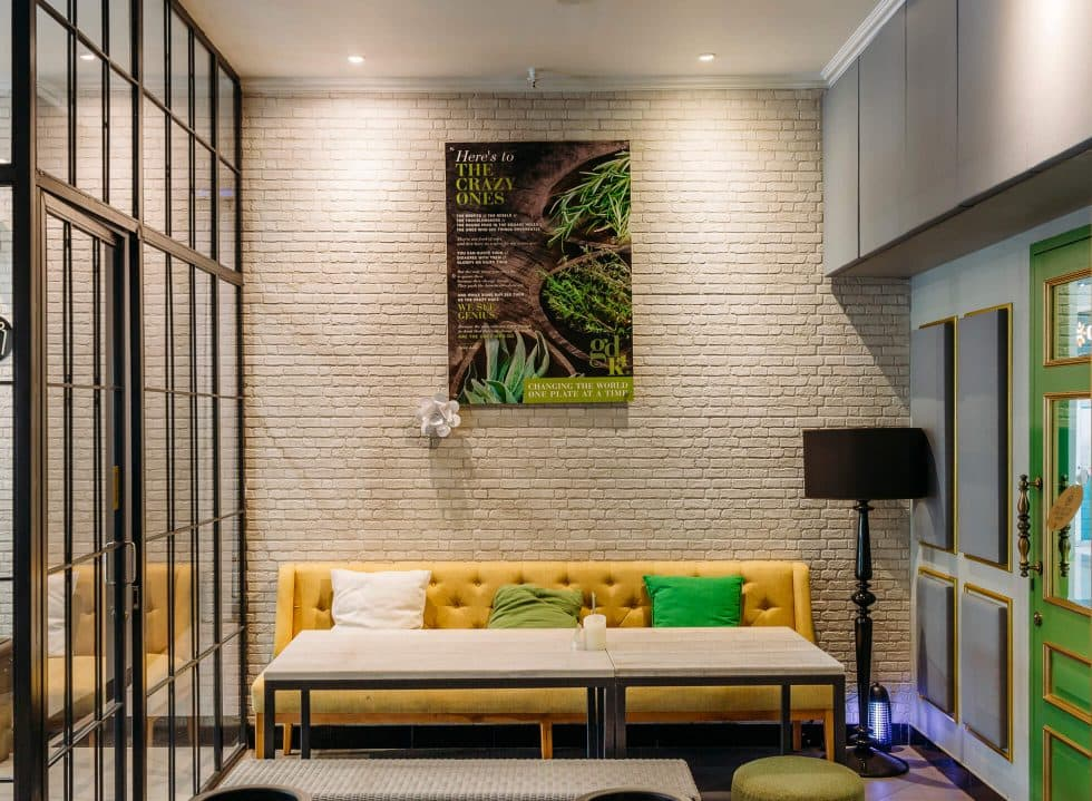 Step into Green Door Kitchen