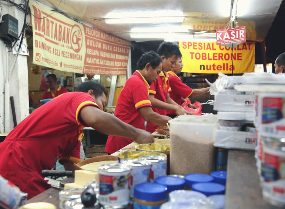 The Celebrated Martabak of Jakarta's Pecenongan