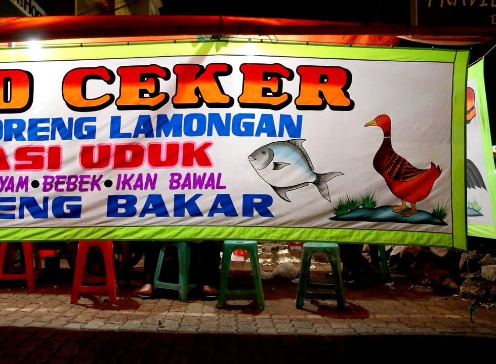 The Talisman of Jakarta's Street Food