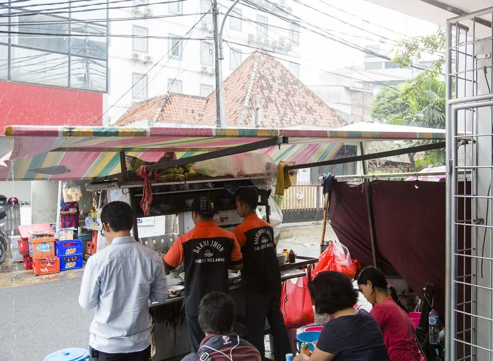 A Street Treat at Bakmi Jhon