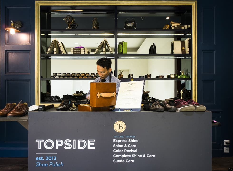 Step into Topside