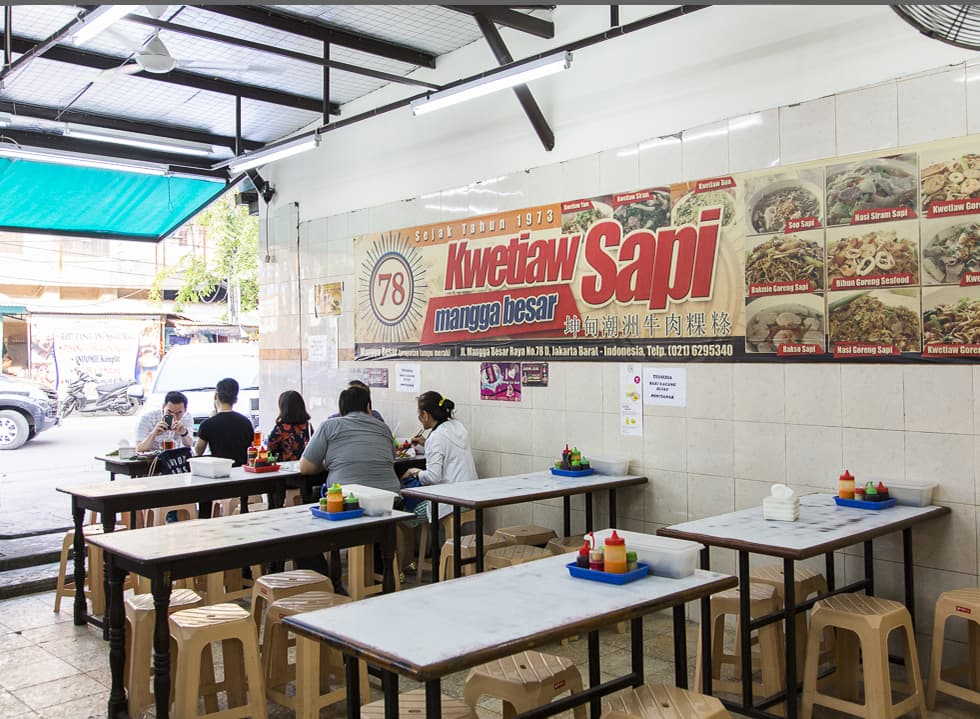 The Renowned Kwetiaw Sapi Mangga Besar