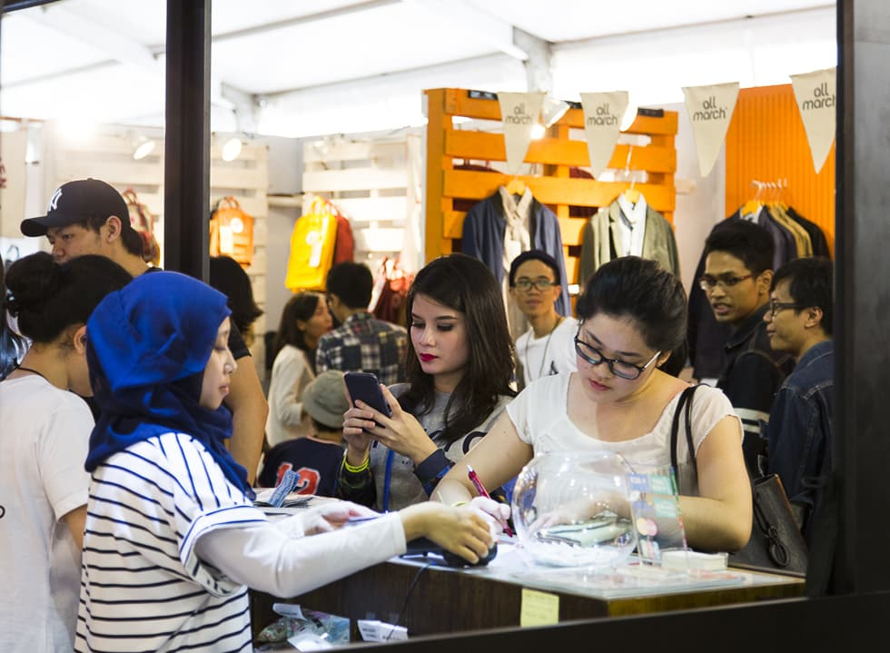 Brightspot's Pop-Up Mall