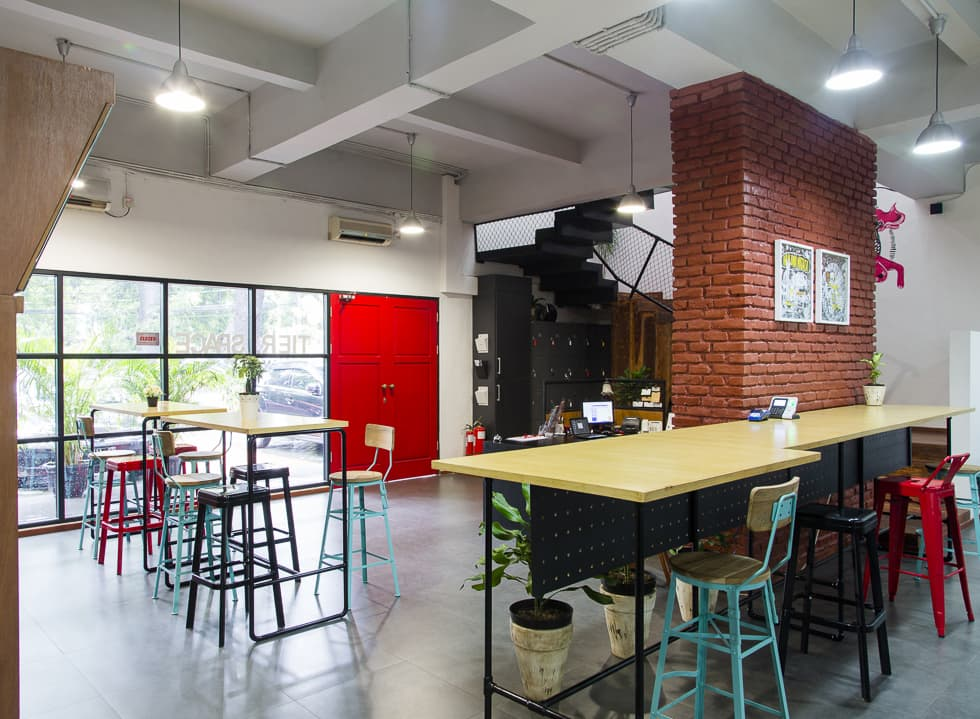 Tier Space: Co-working Made Easy