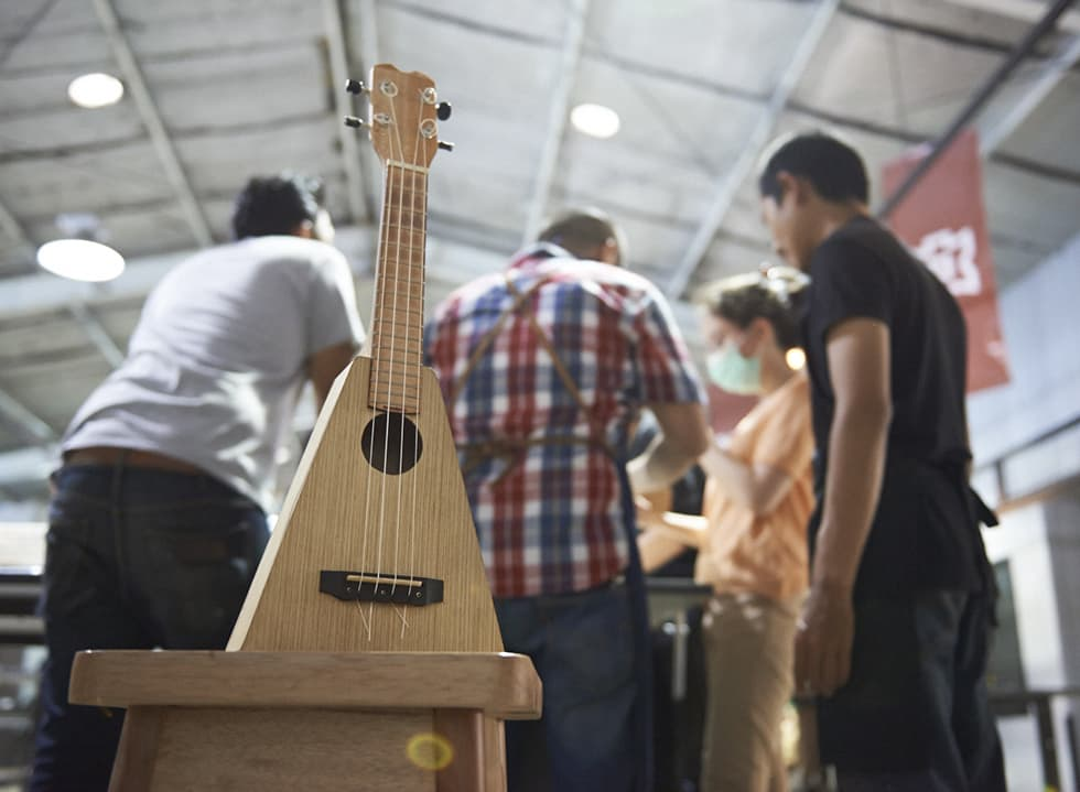 Ukulele Making Class by Indoestri