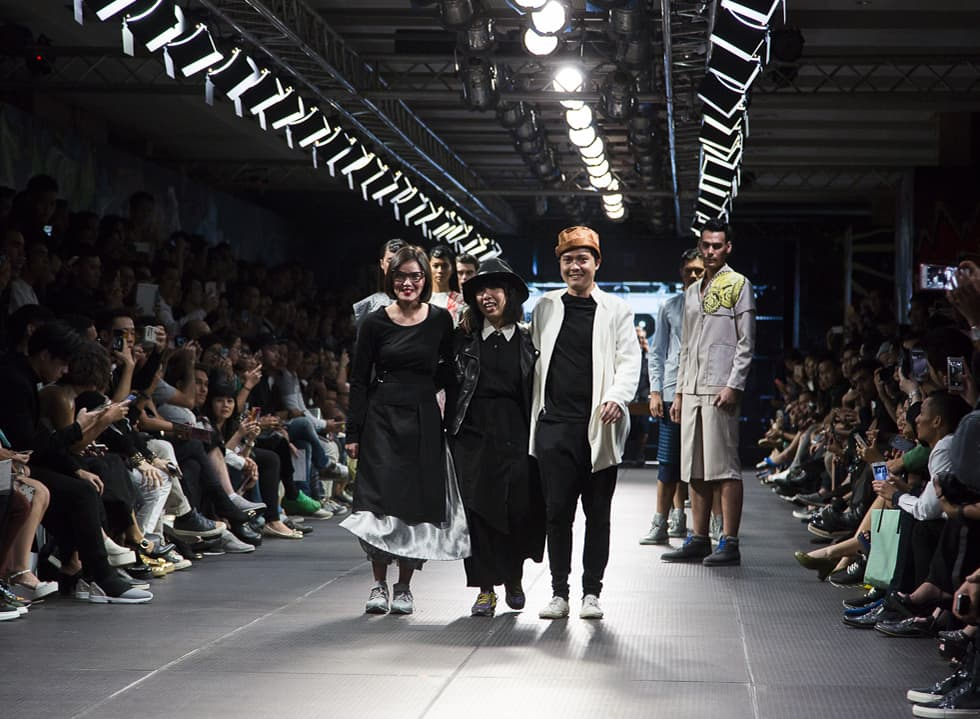 PIMFW 2015: (X) S.M.L, Danjyo Hiyoji, THE GOODS DEPT
