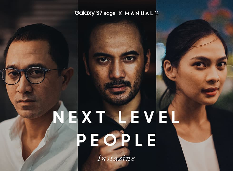 Next Level People Instazine by Manual Jakarta X Samsung Indonesia