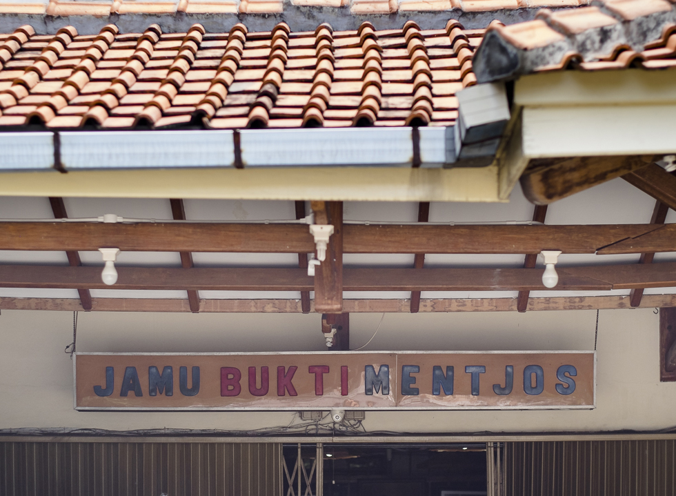 Jamu Remedy at Bukti Mentjos