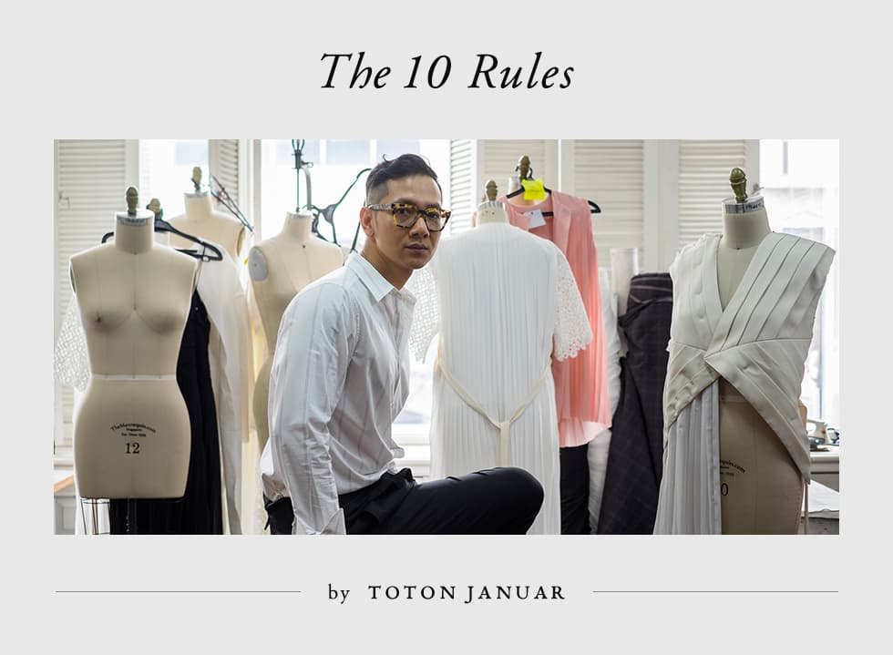 The 10 Rules by Toton Januar