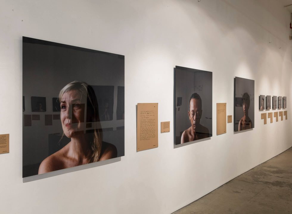 Free Fall Exhibition by Vanessa Van Houten