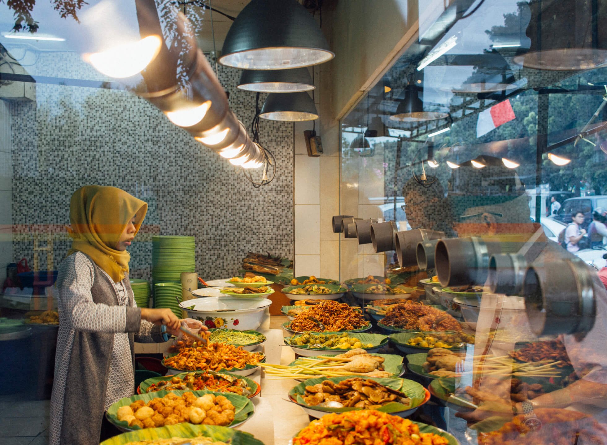 Spoilt For Choice at Nasi Uduk Ibu Jum
