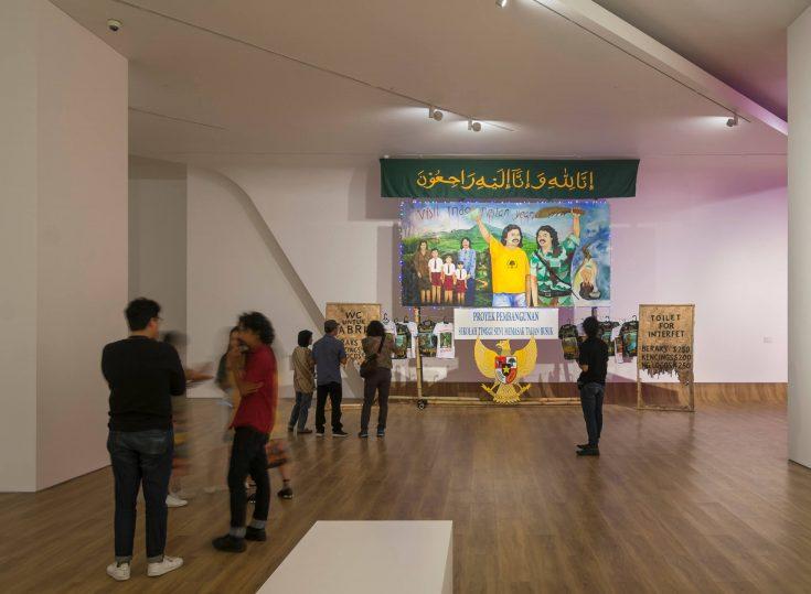 Dunia Dalam Berita at Museum MACAN