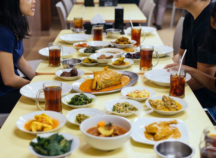 Have a Feast at Rumah Makan Medan Baru