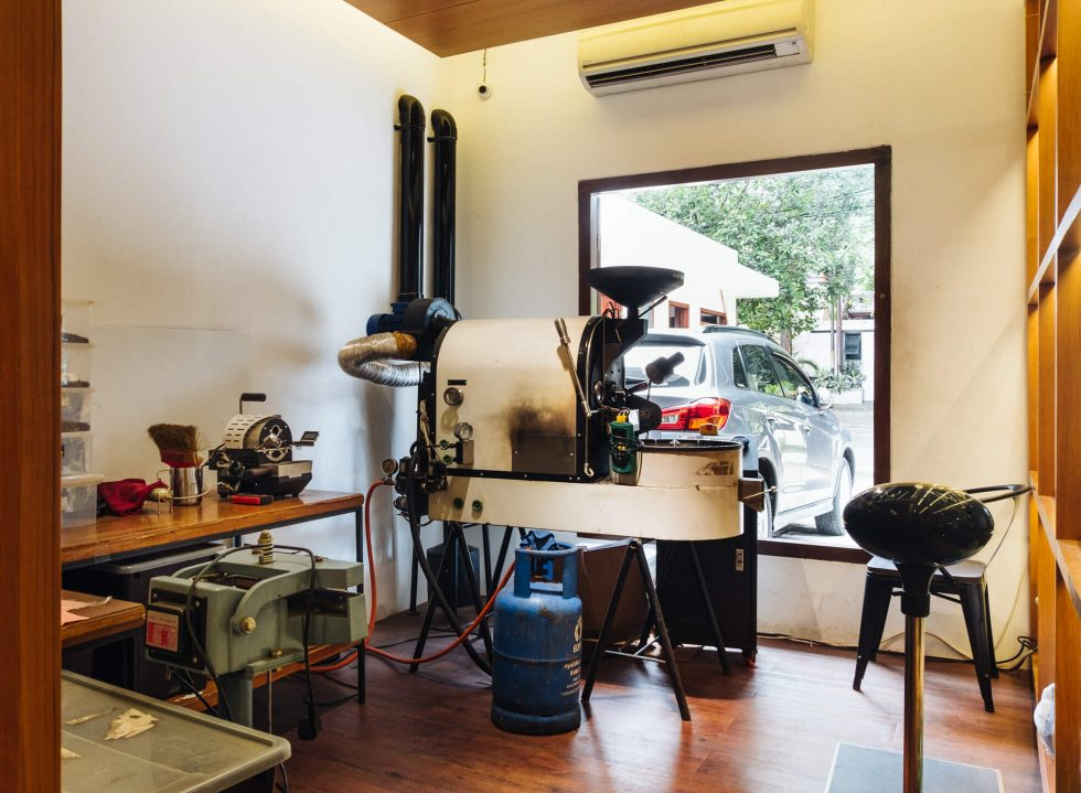 Back at Simetri Home Coffee Roasters