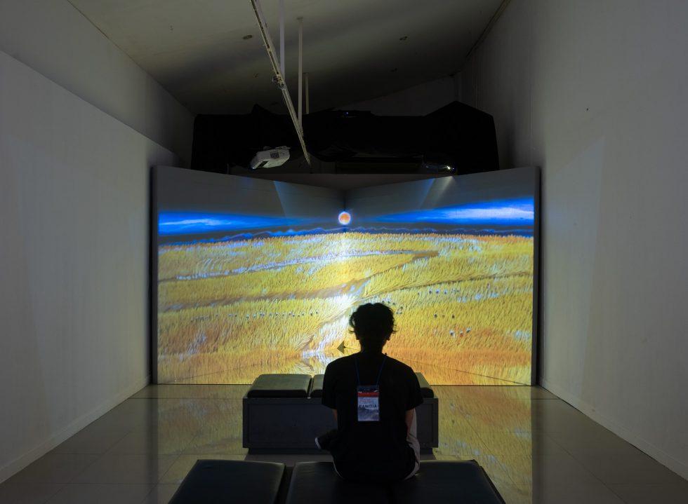 Srihadi Soedarsono Presents 'Man x Universe' at the National Gallery of Indonesia
