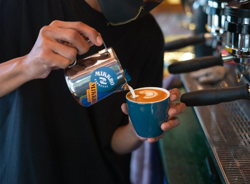 A Sip at Mikkro Espresso