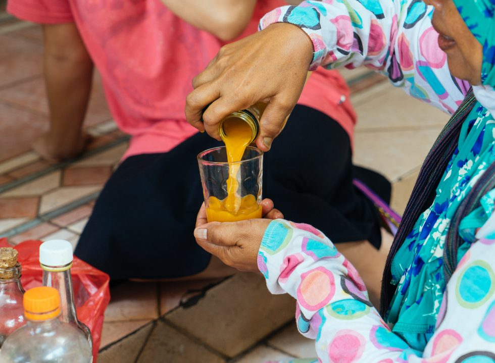 A Cup of Wisdom from Mbok Jamu