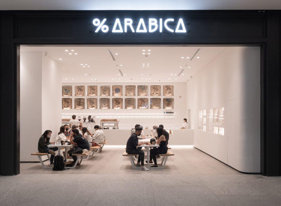 % Arabica (ASHTA District 8)