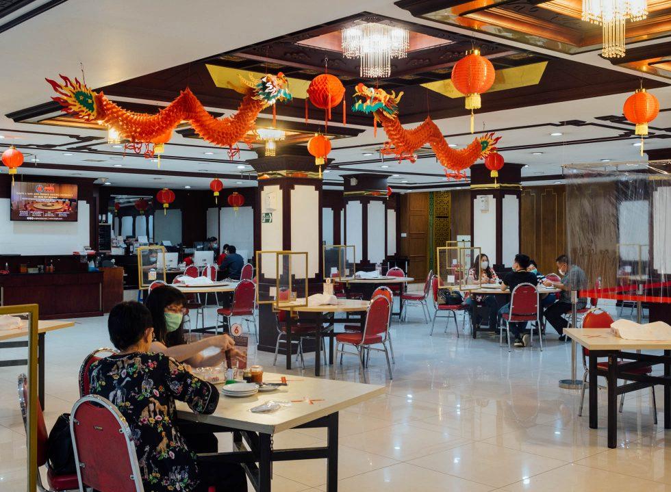 Angke Restaurant's Quiet Festivity