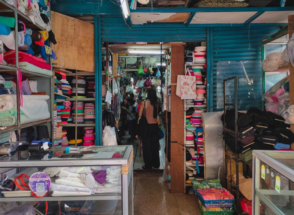 All The (Sewing) Goods in Toko Maju