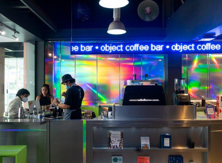 Cheers, Object Coffee Bar